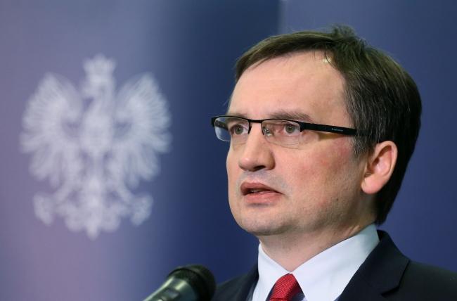 Justice Minister Zbigniew Ziobro. Photo: PAP/Paweł Supernak.