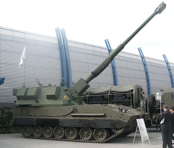 AHS Krab — польська самохідна артилерійська установка з гарматою-гаубицею калібру 155 мм