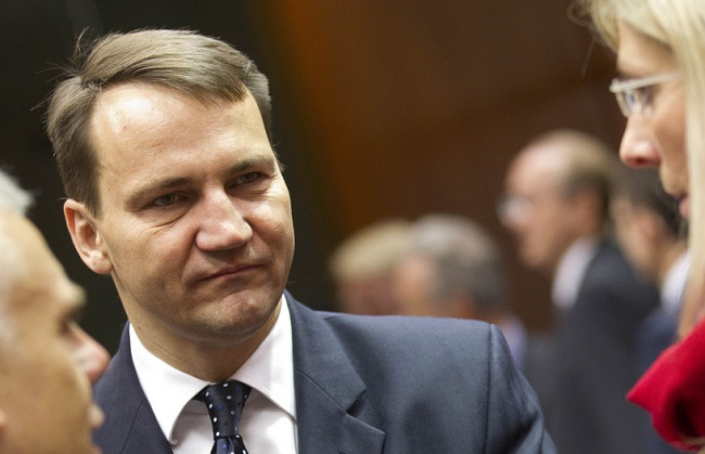 Radosław Sikorski was Poland's Foreign Minister between 2007 and 2014. Photo: European External Action Service. (CC BY-NC-ND 2.0)