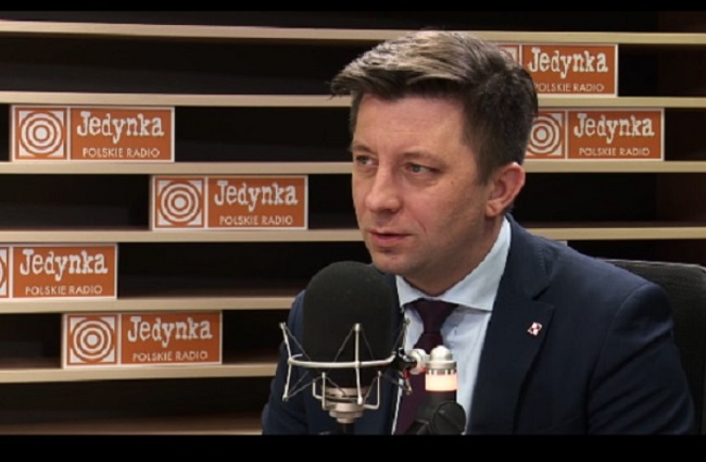 Michał Dworczyk, head of the Polish Prime Minister's Office. Photo: Polish Radio