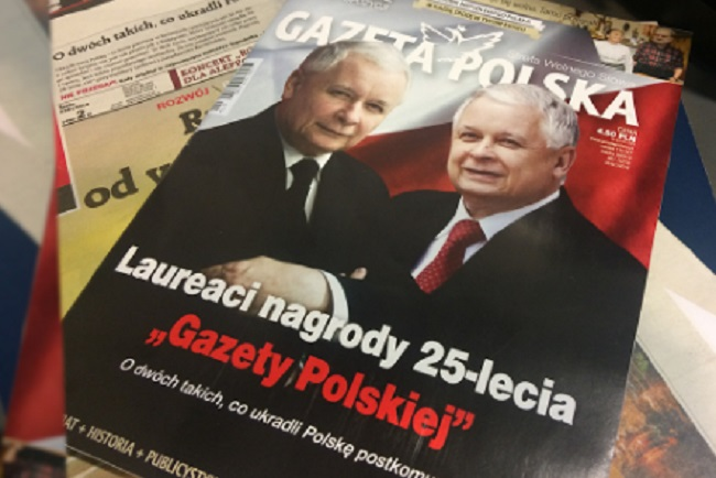The cover of the latest issue of Gazeta Polska. Photo: Polish Radio