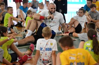 Gortat basketball camp comes to Warsaw