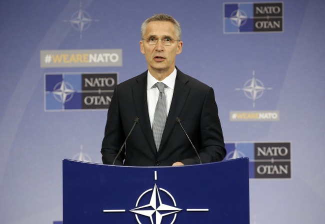 NATO Secretary General Jens Stoltenberg. Photo: EPA/Julien Warnand.