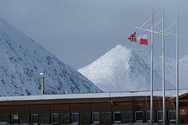 Polish Polar Station on the Norwegian island of Spitsbergen.