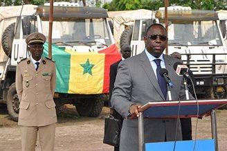 Senegalese president visits Poland