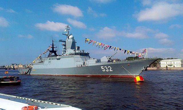 Корвет РФ «Бойкій», 2013 рік