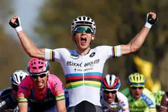 Kwiatkowski wins Amstel Gold Race