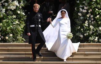 Принц Гаррі одружився з Меґан Маркл