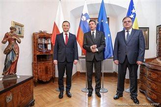 President Duda on Slovenia visit