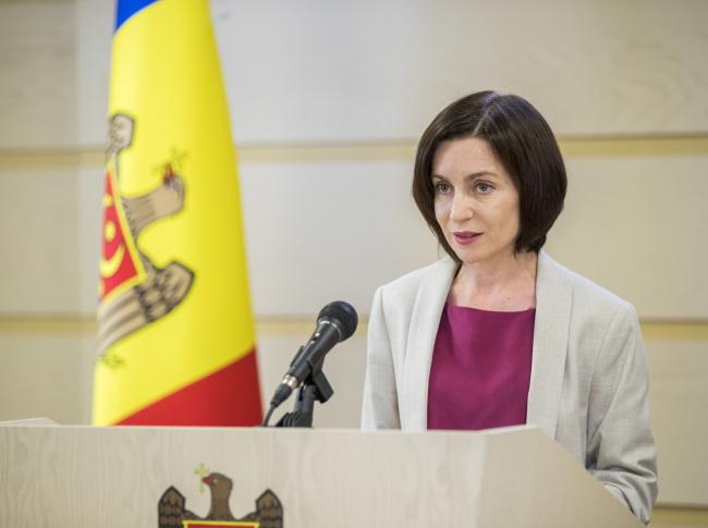 Прэм'ер Малдовы Мая Санду