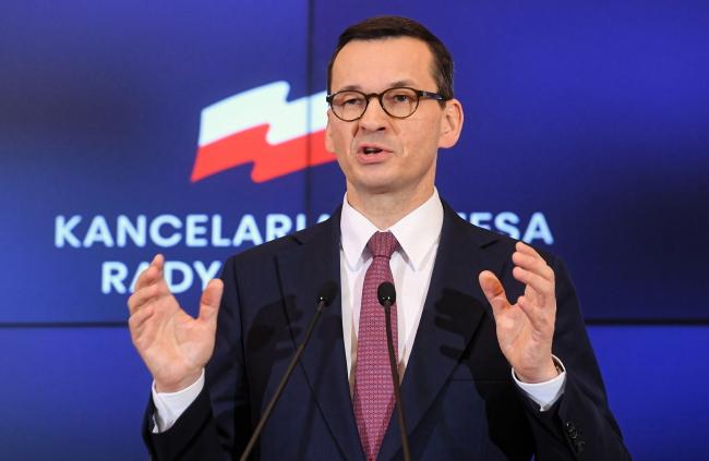 Mateusz Morawiecki. Photo: PAP/Piotr Nowak