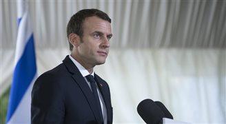 Emmanuel Macron o współpracy z Izraelem