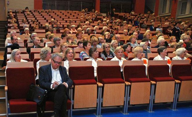 Слухачі Університету третього віку ім. Галіни Шварц. Варшава, 27 жовтня 2016
