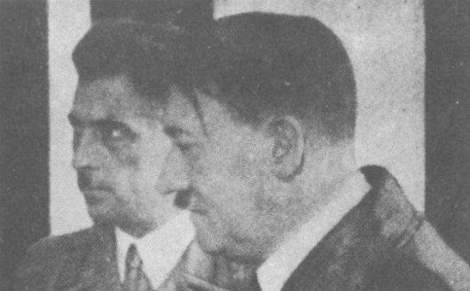 Франц Кучера с Адольфом Гитлером