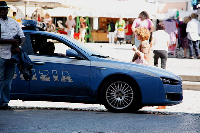 Italian police. Photo: Barbarino/Wikimedia Commons (CC BY-SA 3.0)