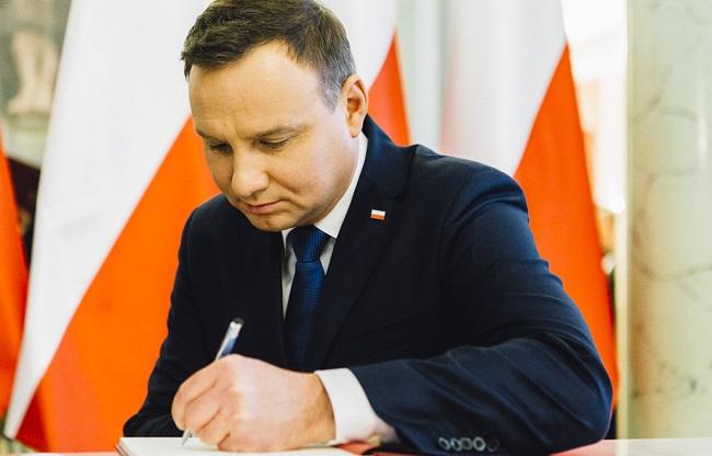 Staatspräsident Andrzej Duda