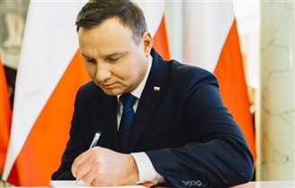 Polish president sends condolences to British queen
