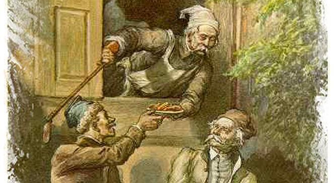 Ilustracja do Księgi XI Michała Elwiro Andriollego z 1881 roku