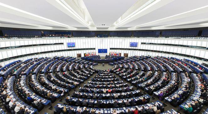 Зал засідань Європейського парламенту