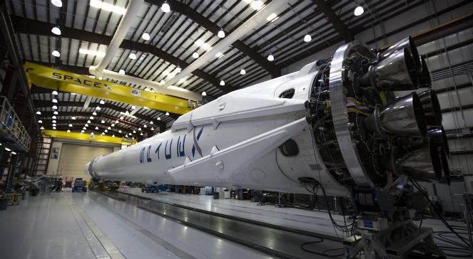 Rakieta firmy SpaceX