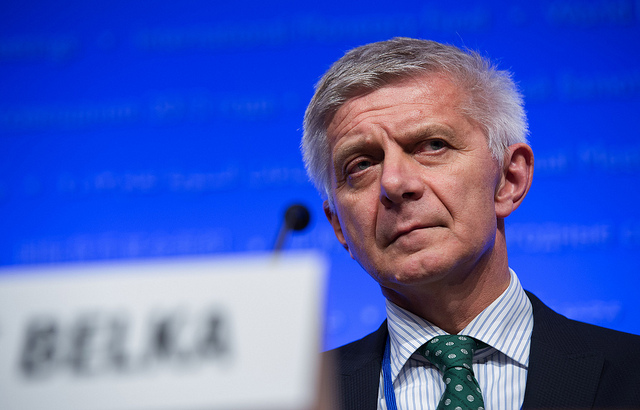 Polisg central banker Marek Belka. Photo: Flickr.com/International Monetary Fund