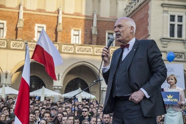Janusz Korwin Mikke is a controversial MEP. Photo: KorWin