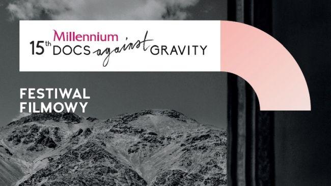 Один из плакатов 15-го кинофестиваля Millennium Docs Against Gravity.