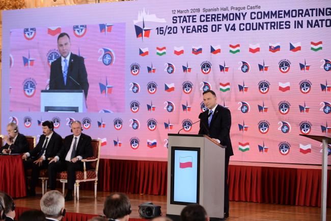 Вишеградська група святкує річницю вступу до НАТО