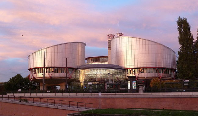 The European Court of Human Rights, Strasbourg. Photo: wikicommons/Alfredovic