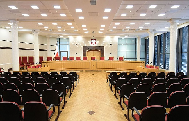 The main room of the Constitutional Tribunal. Photo: Wikimedia Commons