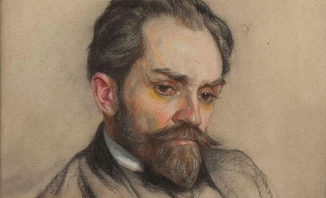 Портрет Стефана Жеромского, автор - Казимир Мордасевич