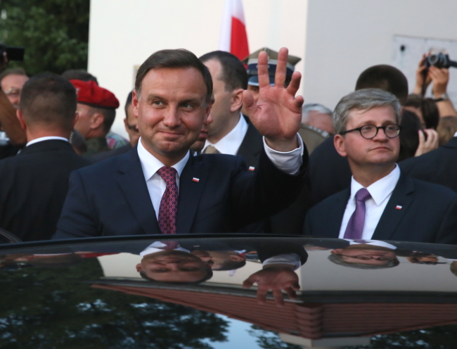 Tallinn will be Andrzej Duda's first foreign visit as President. Photo: PAP/Tomasz Gzell