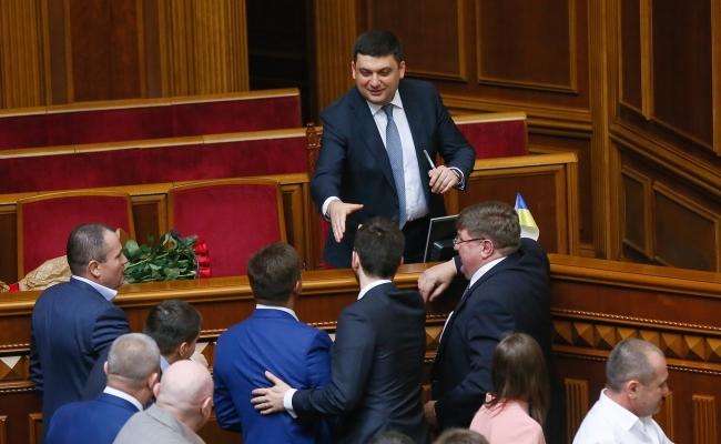 Ukraines Regierungschef Wolodymyr Hrojsman.