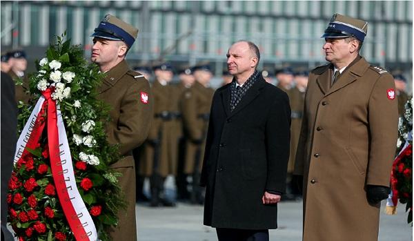 Торжества у Могилы Неизвестного Солдата в Варшаве