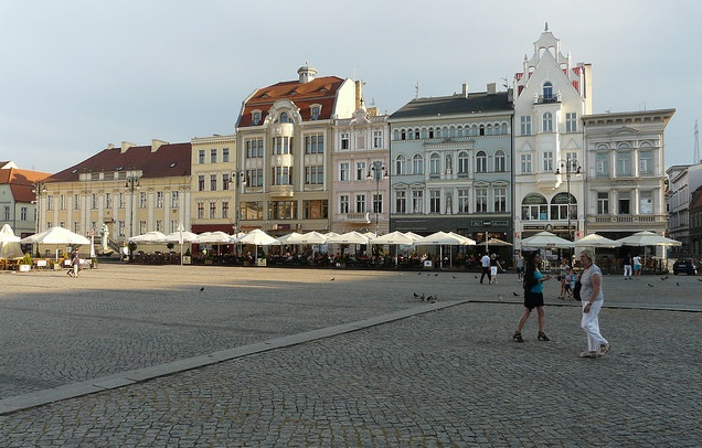 Bydgoszcz town square. Photo: Flickr.com/Dariusz Sieczkowski