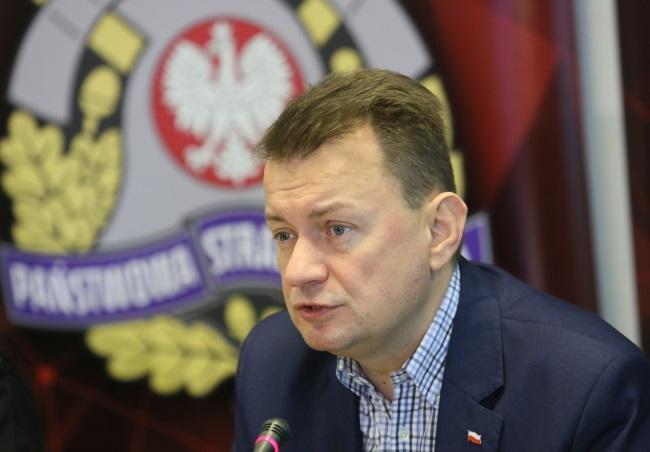 Interior and Administration Minister Mariusz Błaszczak. Photo: PAP/Leszek Szymański