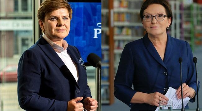 Beata Szydło (L) and PM Ewa Kopacz (R) are set to meet on 18 October. Photo: PAP/Maciej Kulczyński/Radek Pietruszka