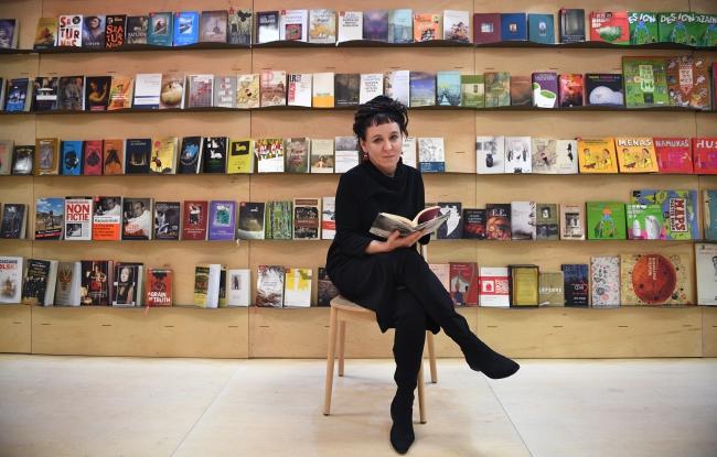 Ольга Токарчук на Лондонському книжковому ярмарку, 15 березня 2017