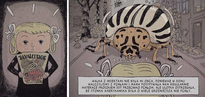 "Kadry z komiksu ""Totalnie nie nostalgia - memuar"""