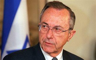 Former Israeli statesman Moshe Arens in Poland