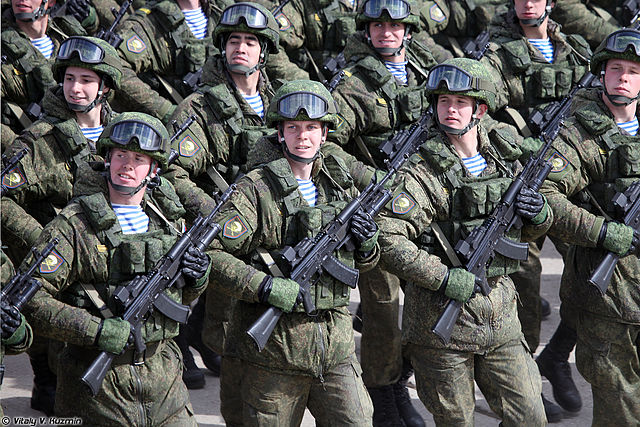 Russian soldiers. Photo: Vitaly V. Kuzmin/Wikimedia Commons (CC BY-SA 4.0)