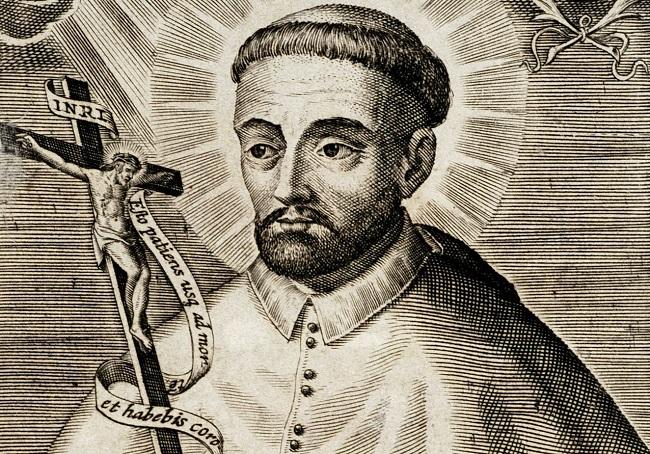 Михал Гедройць. Гравюра XVII в.