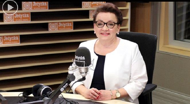 Министр национального образования Польши Анна Залевская.