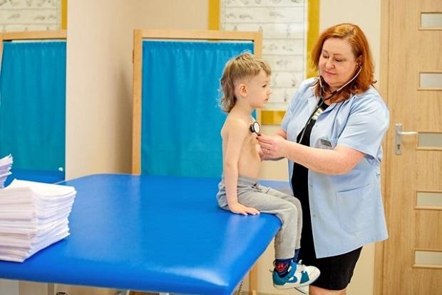 Прием в детской больнице в польской деревне Америка. Фото: ameryka.com.pl
