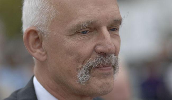 Janusz Korwin-Mikke. Photo: wikicommons/Ryszard Hołubowicz