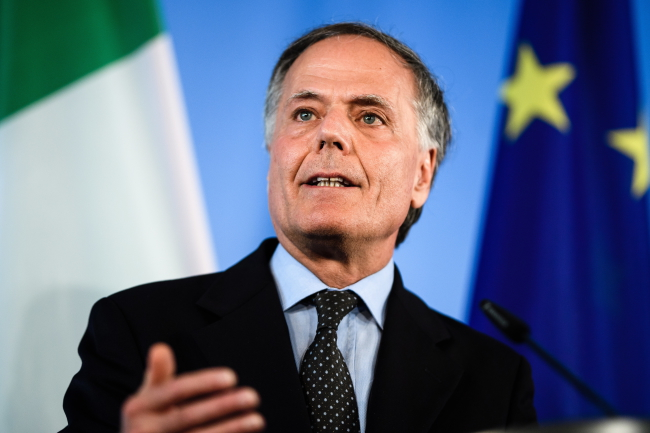 Міністр закордонних справ Італії Енцо Моаверо Міланезі