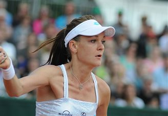 Tennis: Poland's Radwańska into next round at Eastbourne