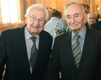 Wajda and Samsonowicz awarded Warsaw citizenship