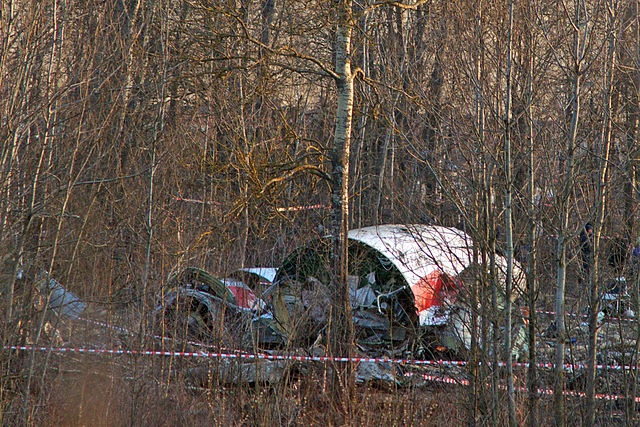 The site of the Polish presidential plane crash in 2010. Photo: Wikimedia Commons