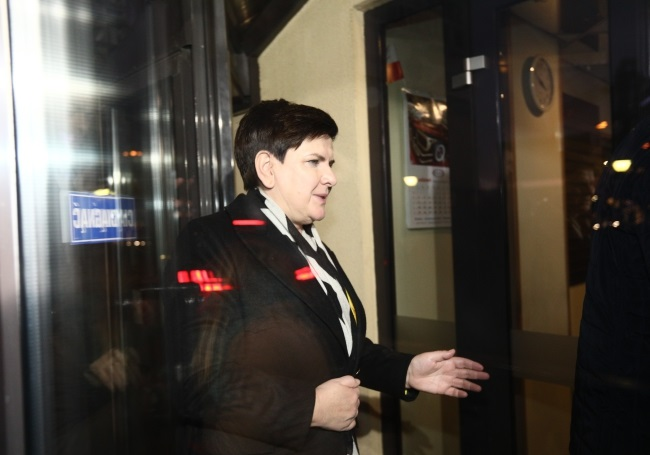 Beata Szydło. Photo: PAP/Leszek Szymański